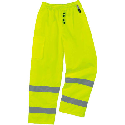 Ergodyne® GloWear® 8925 Class E Thermal Pants, Lime, S