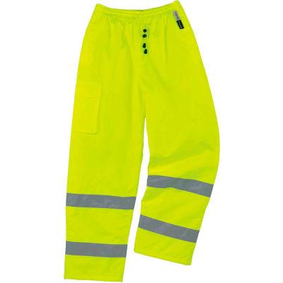 Ergodyne® GloWear® 8925 Class E Thermal Pants, Lime, 3XL