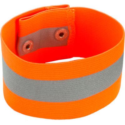 Ergodyne® GloWear® 8001 Arm/Leg Band, Orange, L/XL