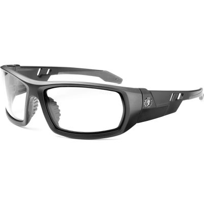 Ergodyne® Skullerz® ODIN-AF Safety Glasses, Matte Black, Anti-Fog Clear Lens, 50403