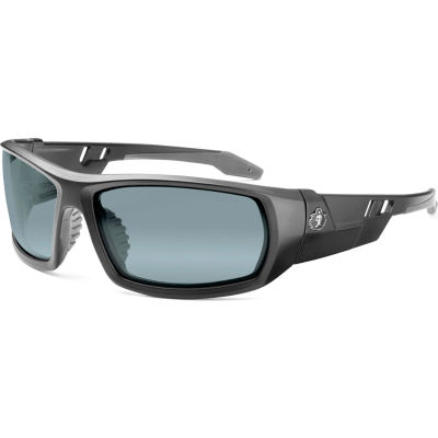 Ergodyne® Skullerz® Odin Safety Glasses, Silver Mirror Lens, Matte Black Frame