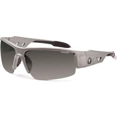 Ergodyne® Skullerz® Dagr PZ Safety Glasses, Polarized Smoke Lens, Matte Gray Frame
