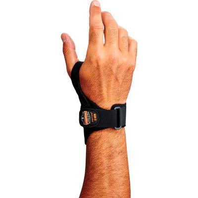 Ergodyne® ProFlex® 4020 Wrist Support, Black, Medium, Left