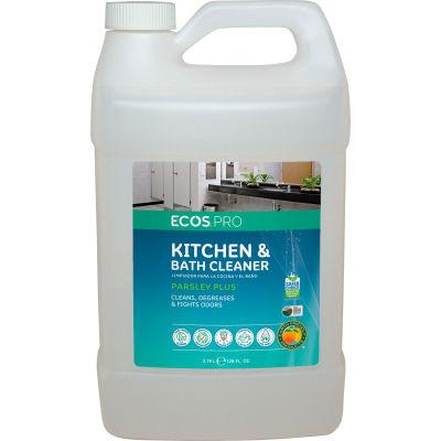 ECOS® Pro  Kitchen Cleaner , Parsley, Gallon Bottle, 4 Bottles - PL9746/04