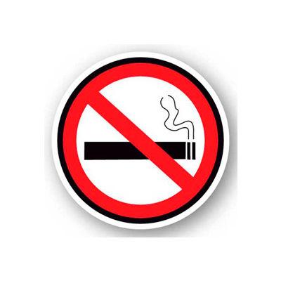 """Durastripe 32"""" Round Sign - No Smoking - No Text"""