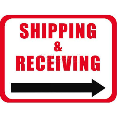 "Durastripe 24""X18"" Rectangle - Shipping & Receiving"