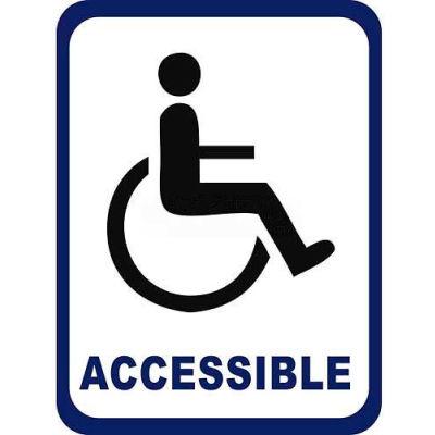"Durastripe 50""X32"" Rectangle - Wheelchair Accessible"