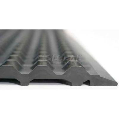 "Ergomat® Nitril ESD Anti Fatigue Mat 1/2"" Thick 2' x 8' Black"