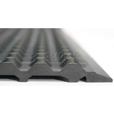 "Ergomat® Nitril ESD Anti Fatigue Mat 1/2"" Thick 4' x 14' Black"