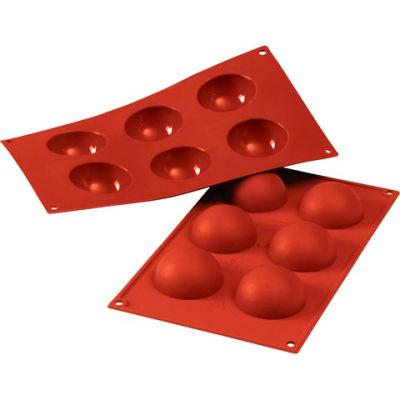 Eurodib/ Silikomart - Siliconflex Silicone Mold - Half-Spheres 2,35'' Dia.