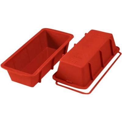 "Eurodib/ Silikomart - Uniflex Silicone - Plumcake Mold 9-7/16"" x 4-1/8"""