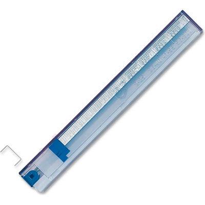 "Esselte® Rapid Stapler Cartridge, 25 Sheets, 1/4"" Length, 210 Per Cartridge, Blue, 5/Pack"