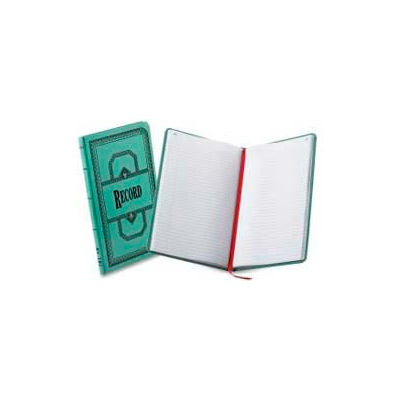 """Boorum & Pease® Account Book, Record Ruled, 12-1/8"""" x 7-1/2"""", Blue Cover, 500 Sheets/Pad"""
