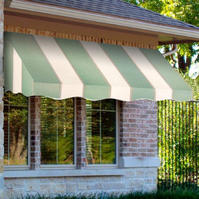 Awntech EF23-10SLCR, Window/Entry Awning 10-3/8'W x 2'H x 3'D Sage/Linen/Cream