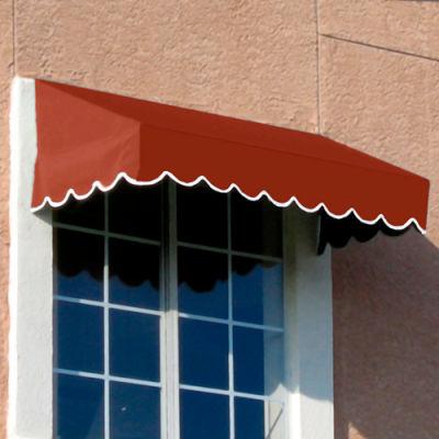 Awntech EF2442-3TER, Window/Entry Awning 3-3/8'W x 2'H x 3-1/2'D Terra Cotta