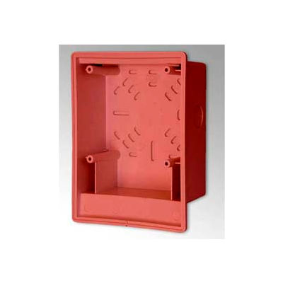 Edwards Signaling, 2459-SMB-R, Surface Box, Red, Indoor