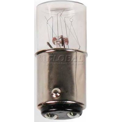 Edwards Signaling 2705W48V25PK 5W Incandescent Bulb For 70 Mm Stacklight 48V 25 Pack