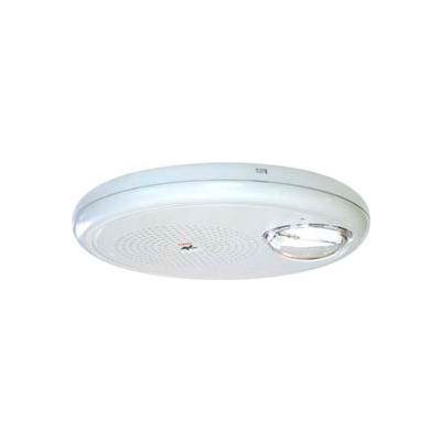 Edwards Signaling, GCHFWN-S7VMCH, Wall Speaker, Strobe, 95-177CD, 70 V, White, Ceiling