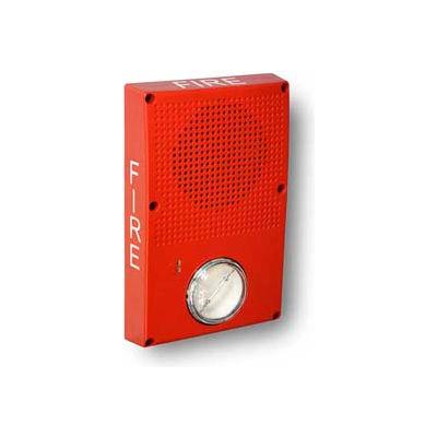 Edwards Signaling, WG4RF-SVMC, Outdoor Speaker Strobe, Red, Fire