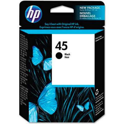 HP® HP 45, (51645A) Black Original Ink Cartridge