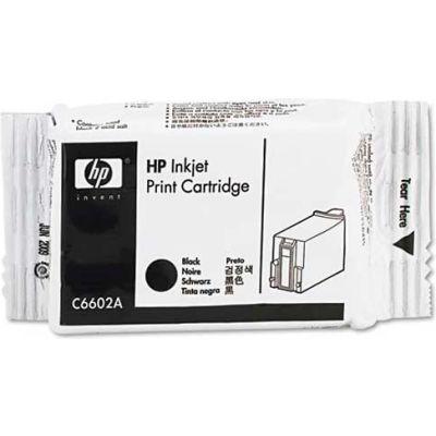HP® HP C6602A Ink Cartridge, Black