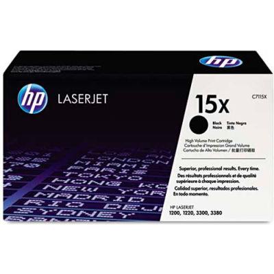 HP® HP 15X, (C7115X) High Yield Black Original LaserJet Toner Cartridge