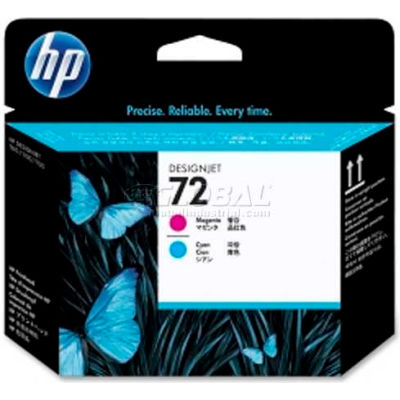 HP® 72 Printhead C9383A, Magenta and Cyan