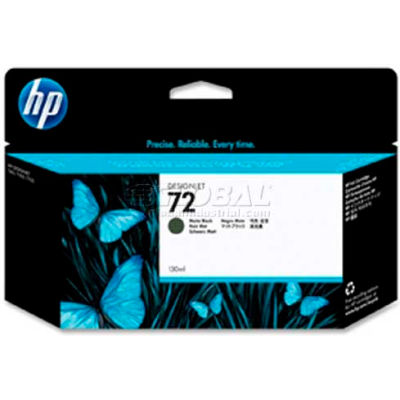 HP® 72 Ink Cartridge C9403A, Matte Black