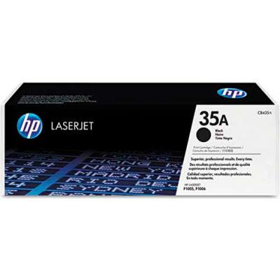 HP® HP 35A, (CB435A) Black Original LaserJet Toner Cartridge
