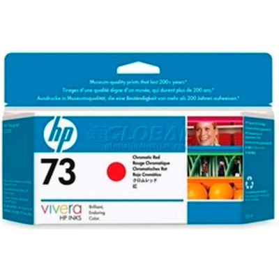 HP® 73 Ink Cartridge CD951A, Chromatic Red
