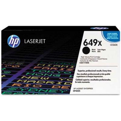 HP® HP 649X, (CE260X) High Yield Black Original LaserJet Toner Cartridge