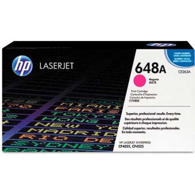 HP® HP 648A, (CE263A) Magenta Original LaserJet Toner Cartridge
