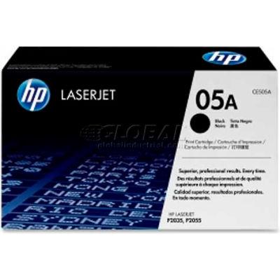 HP® 05A Toner Cartridge CE505A, Black