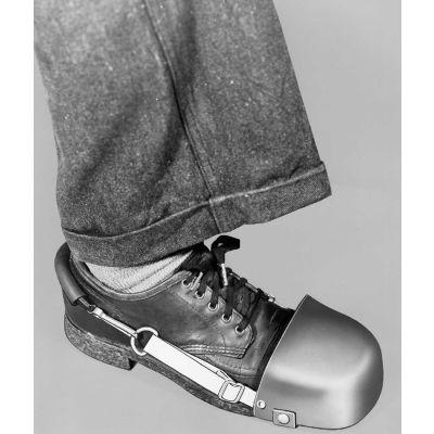 "Ellwood Safety Men's Steel Toe Guards, Quick Fastener & Web Strap, 4-1/2""W, 1 Pair"