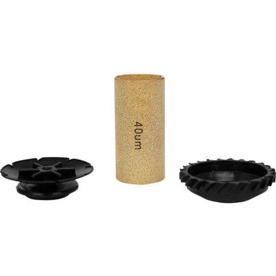 "Exelair EX45FRKB40 Air Filter Repair Kit for 1/4""3/8"" and 1/2"" Filters 40 micron filter & baffles"