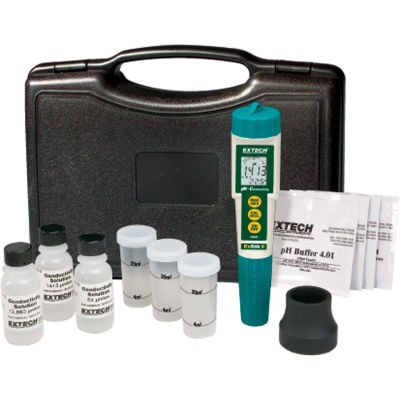 Extech EC510 Waterproof ExStik® II pH/Conductivity Meter Kit, Electrode