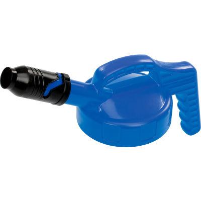 Oil Safe Stumpy Pour Spout Lid, Blue, 100502