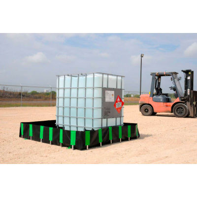 UltraTech 8272 Ultra-Containment Berm®, Economy Model, 10' x 40' x 1', Copolymer 2000™