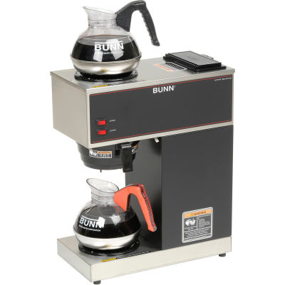 Bunn® VPR - Coffee Brewer, 12 Cups, 2 Warmers, 120V - Bunn 33200.0000