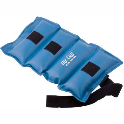 Cuff® Original Wrist and Ankle Weight, 20 lb., Blue