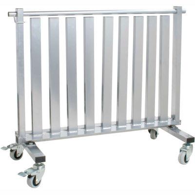 "CanDo® Mobile Studio Dumbbell Rack, 1100 lb. Capacity, 39""L x 19""W x 33""H"