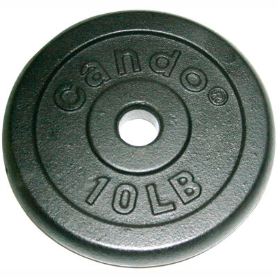 Iron Disc Weight Plate, 10 lb., 2-inch bar