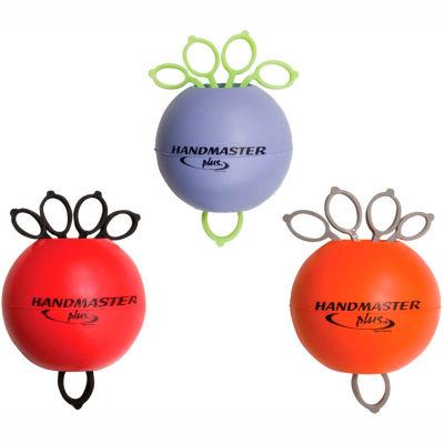 Handmaster Plus™ Hand Exerciser, Set of 3 (Purple, Red and Orange)