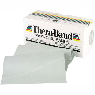 Thera-Band™ Latex Exercise Band, Silver, 6 Yard Roll/Box