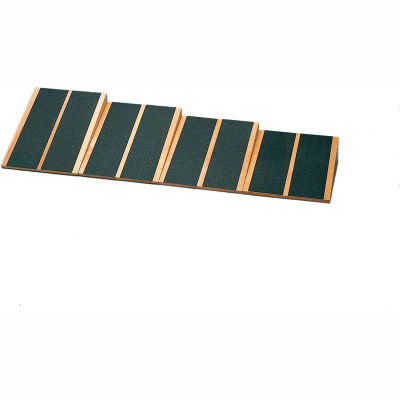 """Wooden Fixed Level Incline Board, 16-1/4"""" x 15"""" Surface, Set of 4 Boards"""