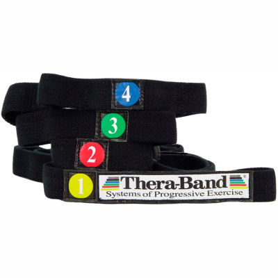 Thera-Band® Stretch Strap, Black, 25 Each