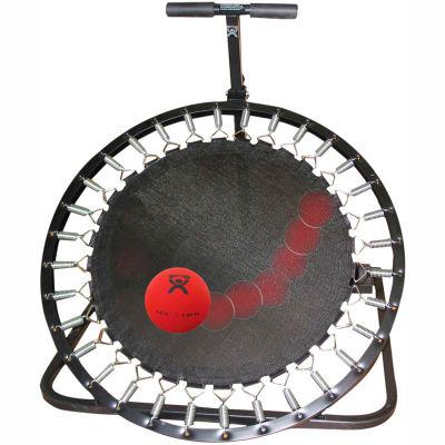 "Adjustable Ball Rebounder For Plyometric Balls, Circular Rebounder, 39""L x 36""W x 42""H"