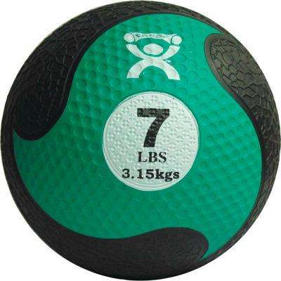"""CanDo® Firm Medicine Ball, 7 lb., 9"""" Diameter, Green"""