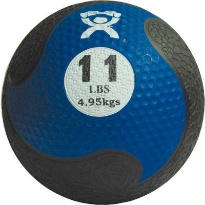 """CanDo® Firm Medicine Ball, 11 lb., 9"""" Diameter, Blue"""