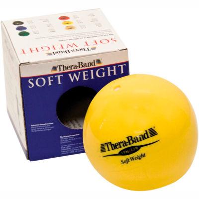 Thera-Band™ Soft Weights™ Ball, Yellow, 1 kg/2.2 lb.